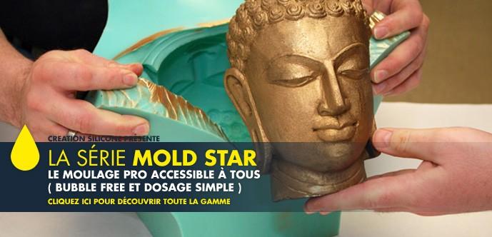 Série  silicones Mold Star
