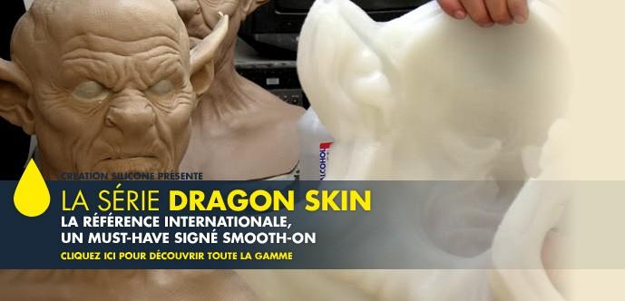 Série Silicones Dragon Skin